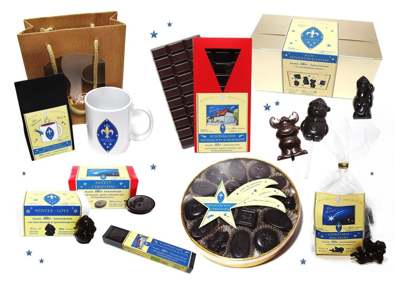 Weihnachts ~ Kollektion - Mandorla Chocolate ~ Shop